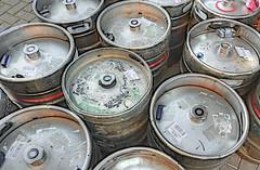 BARRELS (conespider) Tags: barrels beer drink metal pubs outdoor outside 2016 nikon