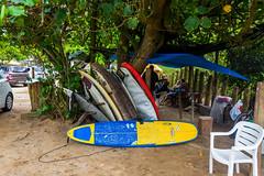 DSC_6258 (sergeysemendyaev) Tags: 2016 riodejaneiro rio brazil         prainha beach ocean storm waves landscape  surfboards