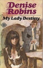 My Lady Destiny (54mge) Tags: paperback romance fiction novel book