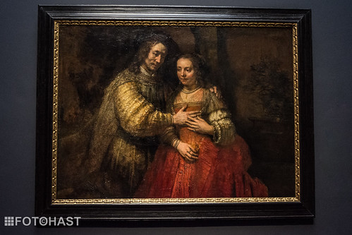 Joodse bruidje - Rembrandt