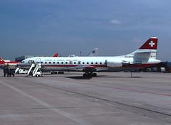 HB-ICN (ilyushin18) Tags: caravelle se210 flugzeug aircraft plane airliner dus