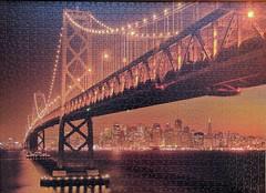 San Francisco (sci-fi-fan) Tags: puzzle clementoni sanfrancisco fluorescent