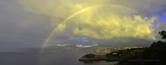 Arco Iris (Xavier Mas Ferr) Tags: arcoiris panormica nubes lluvia sol ibiza eivissa arcdesantmart rainbow meteorologia