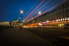 Light trails on the seafront [Explored] (pauldgooch) Tags: margate eos beach england thanet sea 2016 canon kent 600d seaside unitedkingdom gb coast light trails bus explore explored
