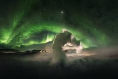 """Life On Mars"" (ArnarKristjans_photography) Tags: iceland phototours aurora night stars canon"