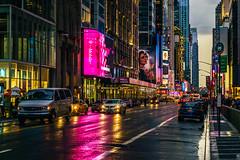 New York, New York... (Arutemu) Tags: america american a7r americain tamron 2875 urban usa us unitedstates nyc ny newyork newyorkcity nuevayork street evening neon manhattan metropolis nightstreet