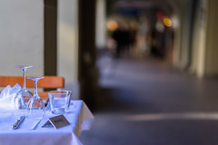 Waiting for the Guests (*Capture the Moment*) Tags: 2016 altstadt bern berne bokeh citytrip citywalk dof focalpoint fotowalk historiccenter minimalism minimalismus restaurant sattel schrfentiefe sonya7m2 sonya7mii sonya7mark2 sonya7ii vintage zeissbatis1885 bokehlicious