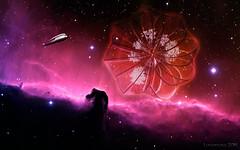 Elysium 2067 - HSS! (lunaryuna) Tags: imagination sciencefiction scifibuffsunleashed imaginingthefuture elysium2067 spacetravel photoshop creativeartwork nasafreespaceimages manipulation fun sliderssunday lunaryuna