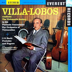 Villa-Lobos (davidgideon) Tags: vinyl records lps everest classical
