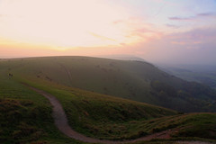 Devils Dyke Sussex (Adam Swaine) Tags: sussex sussexlandscape sunset aonb southdowns nationalparks devilsdyke england english englishlandscapes swaine counties countryside hills 2016 adamswaine footpath walks