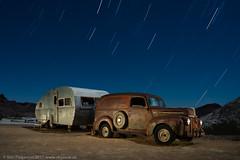 Holiday Road (dejavue.us) Tags: lightpainting longexposure nightphotography nikon trailer d800 180350mmf3545 roadtrip startrails fullmoon nevada nikkor vacation paneltruck vle