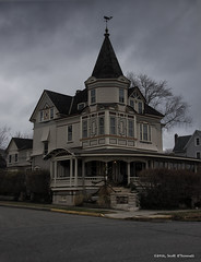 Mansion (scottnj) Tags: mansion home house islandqueen islandheights nj newjersey scottnj victorian victorianmansion cy365 reddit365 scottodonnellphotography