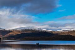 DSC_0095_edited (Polleepops) Tags: luss scotland landscapes blackandwhite lochs water