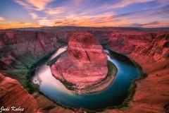 IMG_3733-3 (judikubes) Tags: horseshoebend arizona page river sunset redrocks
