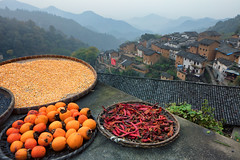 _V3A7046-Edit (kiahng) Tags: chinaautumn2016        mountain hilly village landscape