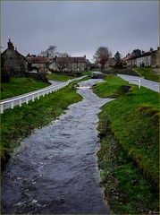 Storm Angus - Hutton le Hole (Hector Patrick) Tags: northyorkshire northyorkmoors huttonlehole fujifilmx100t britnatparks twop weather flickrelite