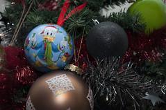 Donald Noel (Fabien 85) Tags: noel nol donald boules ferique sapin guirlande dcoration dco fte fin anne disney