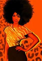 Leo zodiac (LUIS TINOCO - ILLUSTRATOR) Tags: illustration ilustracion girl illustrator woman ilustrador