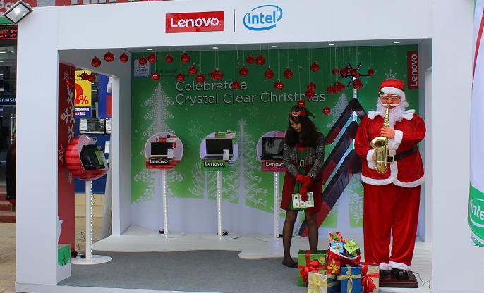 Đón Giáng Sinh lung linh màu sắc cùng Lenovo tại Trần Anh 1174 đường Láng