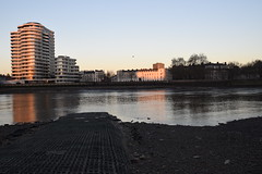 Early Morning Sun on the River Thames - 1 (rq uk) Tags: rquk nikon d750 london nikond750 afsnikkor1835mmf3545ged riverthames river earlymorningsun lowtide