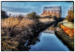 The Old Mill (18Ningwood) Tags: frost mill yarmouth wight isle