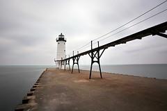 (Martin_Francis) Tags: michigan lighthouse lakemichigan pier manistee northpierhead