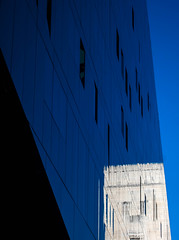 BRYAN_20161019_IMG_9542 (stephenbryan825) Tags: liverpool mannisland merseytunnelairvent merseytunnelsgeorgesdockbuilding blue buildings cloud glass reflection selects