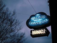 the walrus and the carpenter (quietseattle) Tags: neon neonsigns seattle ballard restaurants