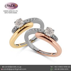 Certified_Diamond_Solitaire_Rings_Paved_with_Natural_Diamonds_in_Multi-Tone_Gold_K18_by_CandidJapan (candidjapan) Tags: engagementring weddingband weddingring solitairering diamondband goldring diamondring goldjewelry diamondjewelry 18kring highend hautejewelry luxury madeinjapan fashiontrends finejewelry bridetobe dressedup photooftheday tuesdaytransformation candidjapan diamond gold engagement wedding