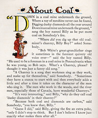 A Chantey is a song the workmen make up for themselves (katinthecupboard) Tags: vintagechildrensillustrations 1937 johnrae raejohn winter cold