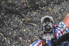 Give 'em Both Barrels. (ThePhotographersRepublic) Tags: over under barrel gun shotgun baretta shooting clay pigeon fun sony broken