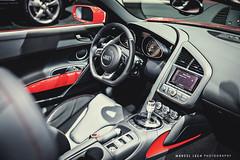 AUDI R8 (Marcel Lech) Tags: auto show new red vancouver race america grey marcel shot interior wheels north front spyder international mclaren prototype bmw dodge a3 gt a4 audi viper generation m4 lfa matte debut amg lexus detailed lech r8 2014 i8 s8 cls63 rs7 650s adv1
