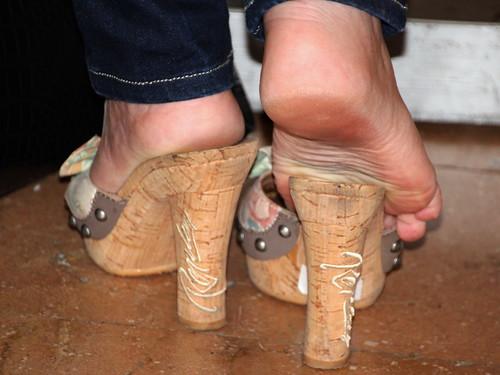 Milf heels and feet