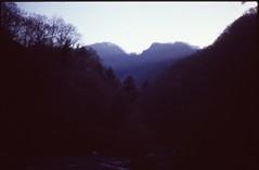 (bensn) Tags: trees light mountains film japan 50mm ray pentax f14 slide velvia 100 tochigi fa lx