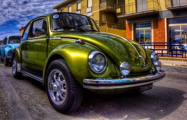 auto show car volkswagen beetle hdr autodepoca käfer cecina maggiolino 16° hdrphoto 18052014 maggiolinoclubitalia