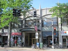 Arcade Building, Brookline, MA (rwchicago) Tags: boston mall landmark stores brookline nationalregister nationalregisterofhistoricplaces nrhp arcadebuilding caststone