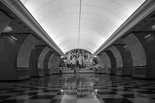Moscow Metro station ©  Still ePsiLoN