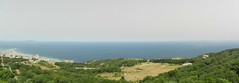 DSCN2985-DSCN2988 Trapani and Egadi panorama (drayy) Tags: italy panorama town italia medieval sicily sicilia erice