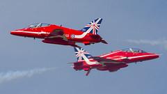 RAF - Red Arrows - Royal International Air Tattoo 2014 - RAF Fairford
