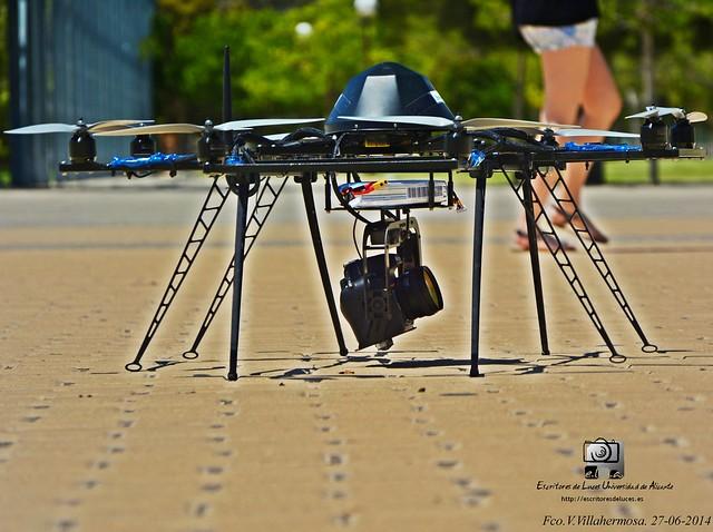 alicante congreso vuelo drone tig demostración universidadalicante