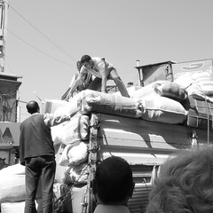 pick up the pieces (joe.laut) Tags: people bw square blackwhite istanbul mai sw schwarzweiss 2014 incoloro joelaut
