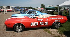 1971 Dodge Challenger Indy Pacecar (osubuckialum) Tags: show columbus ohio classic cars car muscle favorites views oh mopar myfavorites nationals 1000 carshow musclecar 2014 moparnationals moparmuscle nationaltrailraceway moparpower