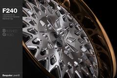 f240-brushed-grigio (AG Wheels) Tags: wheel bronze hardware paint grigio mesh painted wheels profile custom standard rim rims liquid tinted avant garde forged polished brushed avantgarde gunmetal level3 bespoke f240 agwheels