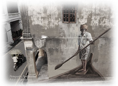 The Indian Boatman (Micartttt) Tags: world heritage mural georgetown unesco malaysia penang unescoworldheritage micarttttworldphotographyawards micartttt juliavolchkova