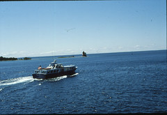 Mackinac Island July 1979 (Mark Mathu) Tags: trip vacation lake ferry island boat michigan teenager 1979 huron teenage mackinac markmathu