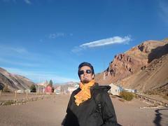 Puente del Inca with superstar