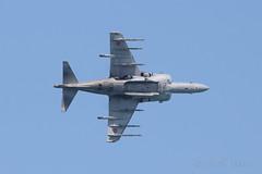 AV8 Harrier II Plus (pablo_mateosneira) Tags: sea españa plane team europe aviation asturias aeroplane airshow aguila aviación exibicion patrullaäguila festivalaéreodegijon2014