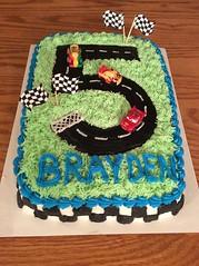 Cars cake by Whitney, Linn County, IA, www.birthdaycakes4free.com