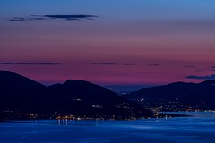 After the Sunset on Iseo Lake [1200] (drugodragodiego) Tags: blue sunset italy lake water crimson tramonto pentax 1200 nightscene lombardia notturno k3 iseo lagodiseo sebino provinciadibrescia pentaxda50135mm smcpentaxda50135mmf28edifsdm pentaxiani pentaxk3