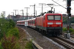 143 626-0, Nrnberg-Steinbhl (Howard_Pulling) Tags: camera train germany bayern deutschland bavaria nikon nuremberg july rail railway zug trains german munchen bahn nurnberg 2014 howardpulling d5100